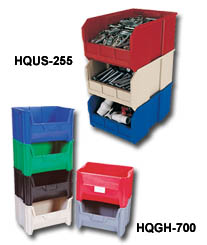 GIANT OPEN HOPPER STACKABLE BINS & STORAGE SYSTEMS