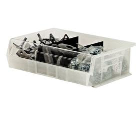 CLEAR-VIEW SHELF BINS