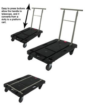 """SMOOTH & COMPACT"" PLATFORM CART"