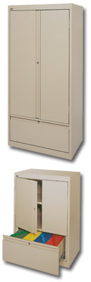 STORAGE CABINETS WITH FILE DRAWER