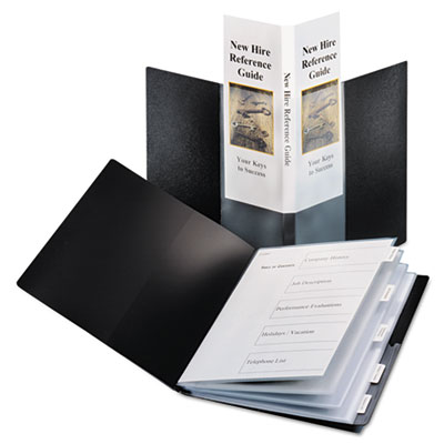 Cardinal® Spine Vue® ShowFile™ Presentation Book with Index