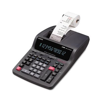 Casio® DR-270TM Two-Color Desktop Printing Calculator