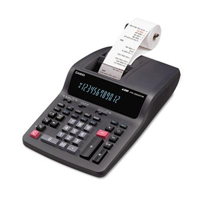 Casio® FR-2650TM Two-Color Desktop Printing Calculator