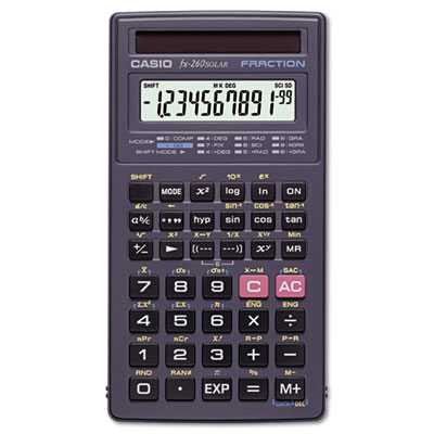 Casio® FX-260 Solar All-Purpose Scientific Calculator
