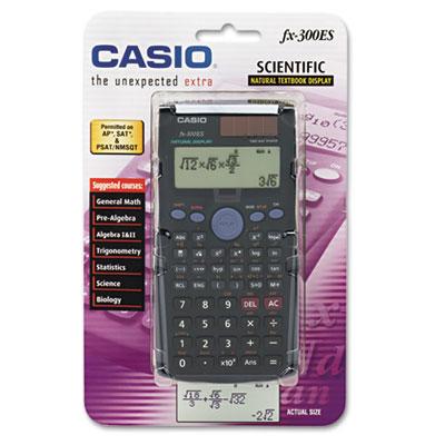Casio® FX-300ES Overhead Scientific Calculator