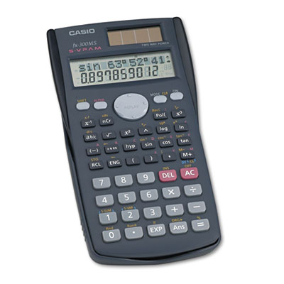Casio® FX-300MS Scientific Calculator
