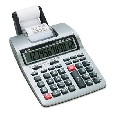 Casio® HR-100TM Portable Printing Calculator