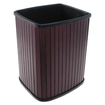 Carver™ Rectangular Hardwood Wastebaskets