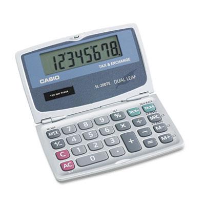 Casio® SL200TE Handheld Foldable Pocket Calculator