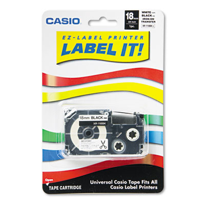 Casio® Label Printer Iron-On Transfer Tape