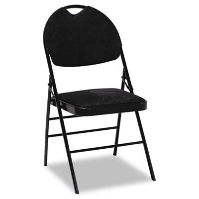 Bridgeport™ XL™ Series Fabric Padded Folding Chair