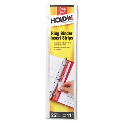 Cardinal® HOLDit!® Binder Insert Strip