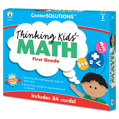 Carson-Dellosa Publishing CenterSOLUTIONS® Thinking Kids™ Math Cards