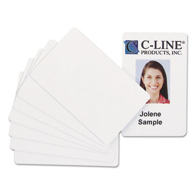 C-Line® PVC ID Badge Card