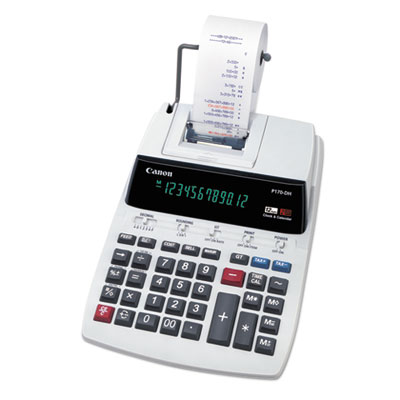 Canon® P170DH 12-Digit Printing Calculator