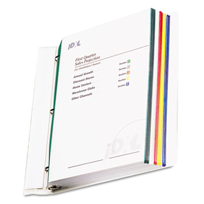 C-Line® Colored Edge Sheet Protector