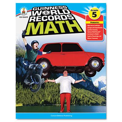 Carson-Dellosa Publishing Guiness World Records™ Math