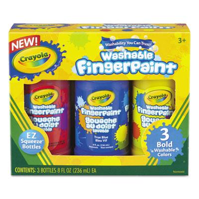 Crayola® Washable Fingerpaint Pack