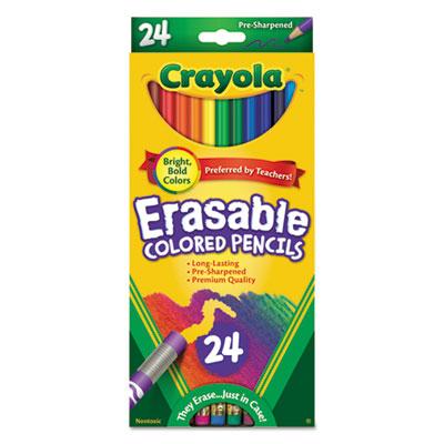 Crayola® Erasable Color Pencil Set