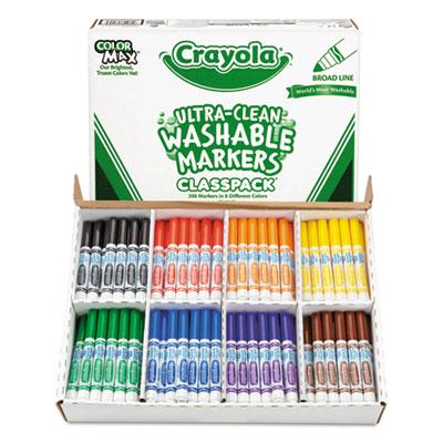 Crayola® Ultra-Clean Washable™ Marker Classpack®