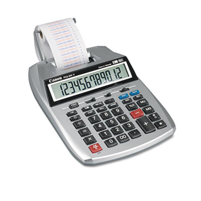 Canon® P23-DHV 12-Digit Printing Calculator