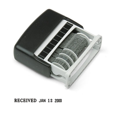 2000 PLUS® Self-Inking Micro Message Dater