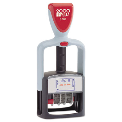 2000 PLUS® Self-Inking Two-Color Word Dater