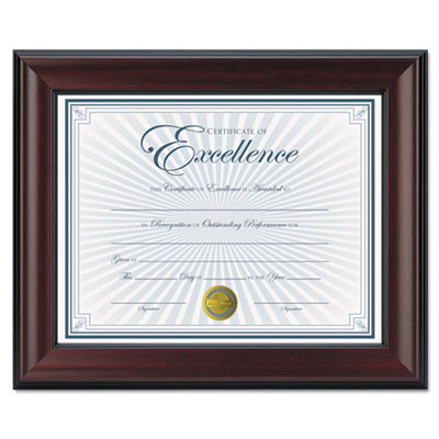 DAX® Rosewood Document Frame
