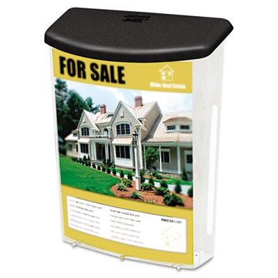 deflecto® Outdoor Literature Box