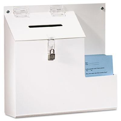 deflecto® Plastic Suggestion Box