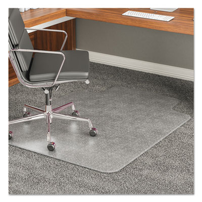 deflecto® ExecuMat® Intensive All Day Use Chair Mat for Plush, High Pile Carpeting