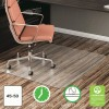 deflecto® EconoMat® Non-Studded Anytime Use Chairmat for Hard Floors