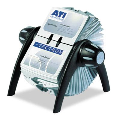 Durable® VISIFIX® Flip Rotary Business Card File