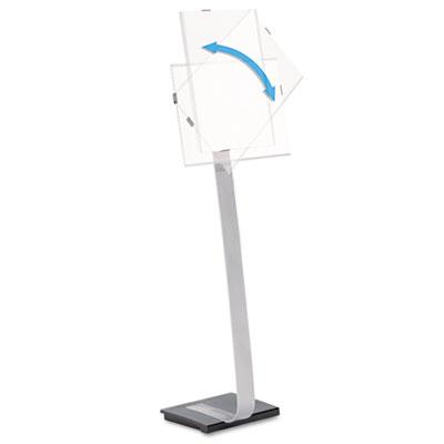 Durable® Info Sign Duo Floor Stand