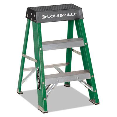Louisville® Folding Fiberglass Step Stool