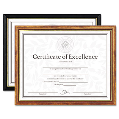 DAX® Two-Tone Document/Diploma Frame