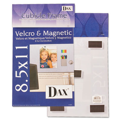 DAX® Velcro®/Magnetic Cubicle Photo/Document Frame
