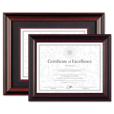 DAX® Two-Tone Rosewood/Black Document Frame