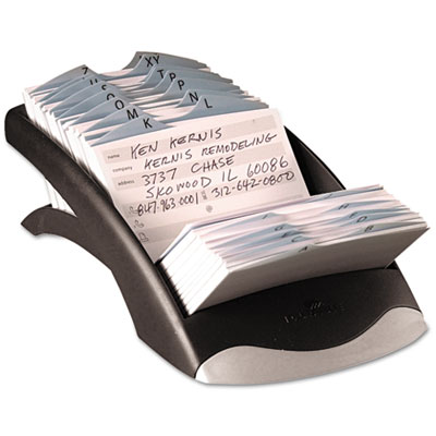 Durable® TELINDEX® Desk Address Card File
