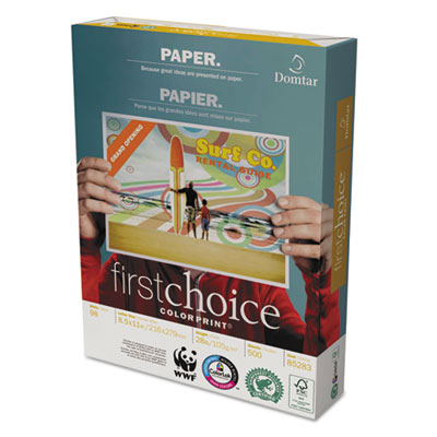 Domtar First Choice ColorPrint® Premium Paper