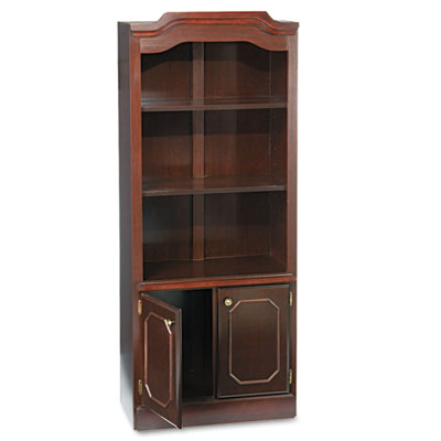 DMi® Governor's Series Bookcase with Doors
