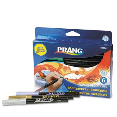 Prang® Metallic Washable Markers