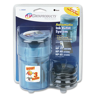 Dataproducts® 60407 Inkjet Auto Refill Kit System