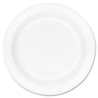 Dart® Concorde® Non-Laminated Foam Dinnerware