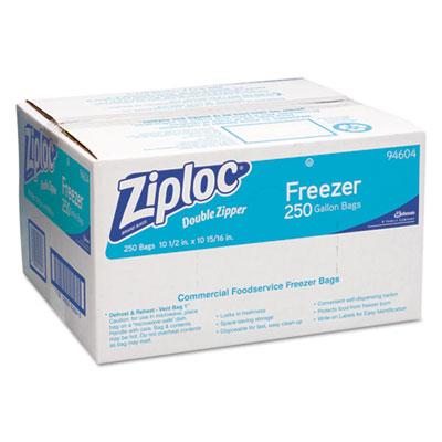 Ziploc® Double Zipper Freezer Bags