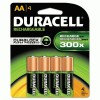 Duracell® Rechargeable NiMH Batteries with Duralock Power Preserve™ Technology