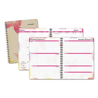 AT-A-GLANCE® Watercolors Weekly/Monthly Planner