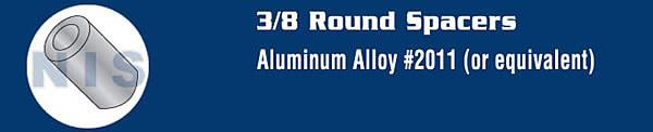 3/8 Aluminum Spacers