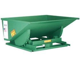 LOW PROFILE SELF DUMPING HOPPERS: 0.125 Cu. Yds/2000 (lbs), 0.25 Cu. Yds/4000 (lbs) 0.33 Cu. Yds/4000 (lbs), 0.5 Cu. Yds/4000 (lbs)