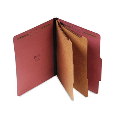 Universal® Four-, Six- and Eight-Section Classification Folders